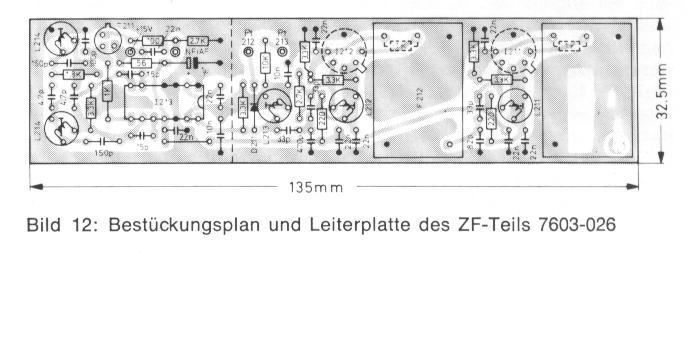 Bestückung ZF-Teil